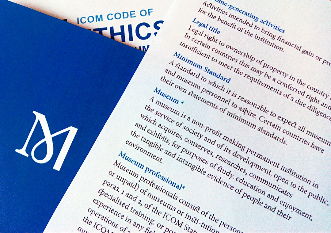 Code of Ethics - ICOM - ICOM