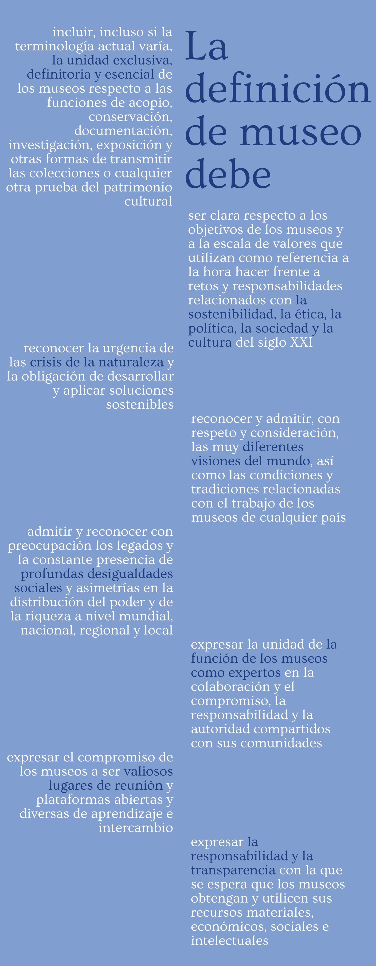 Definición de museo - ICOM - ICOM