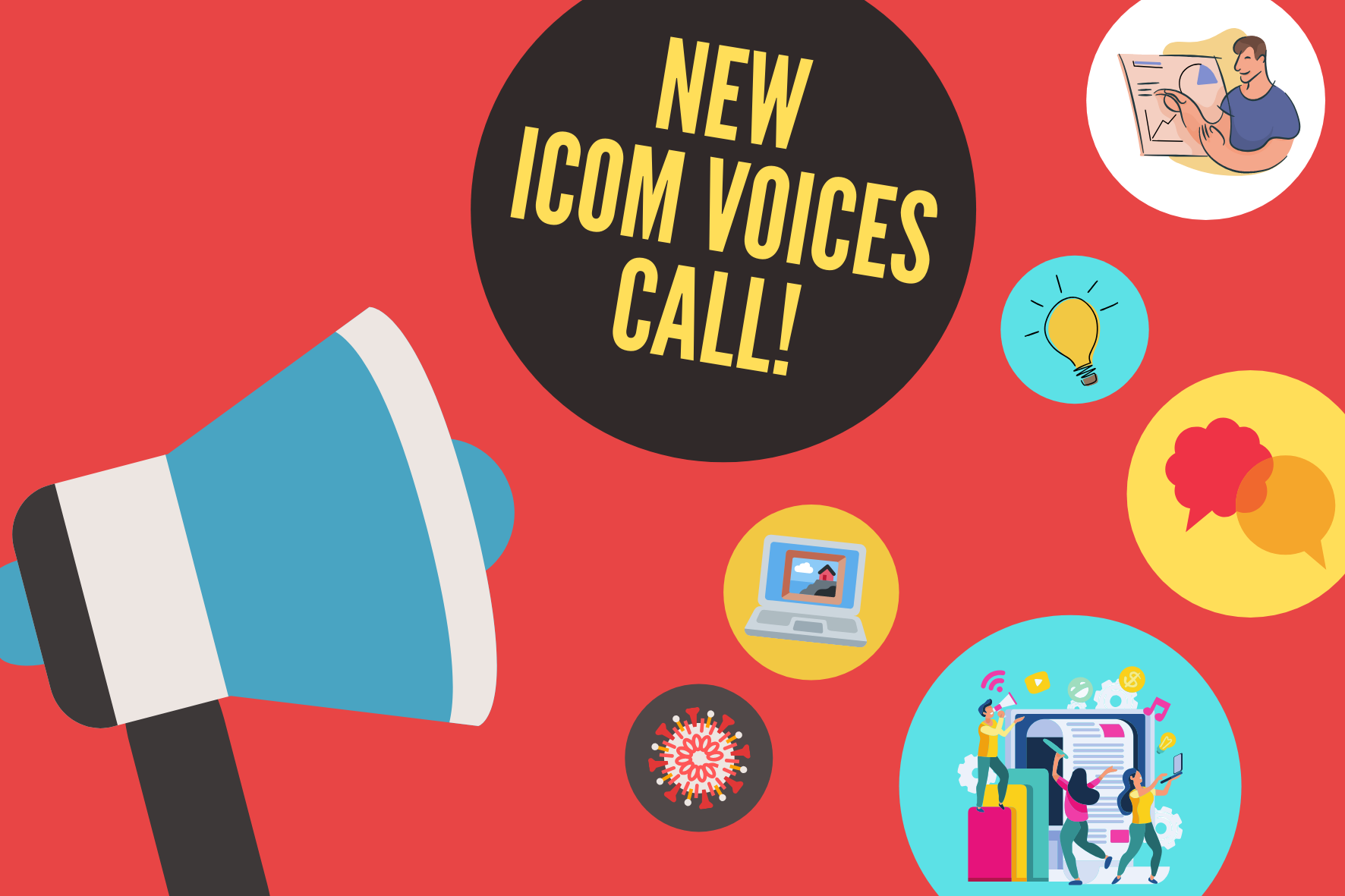 Share your experiences on ICOM Voices