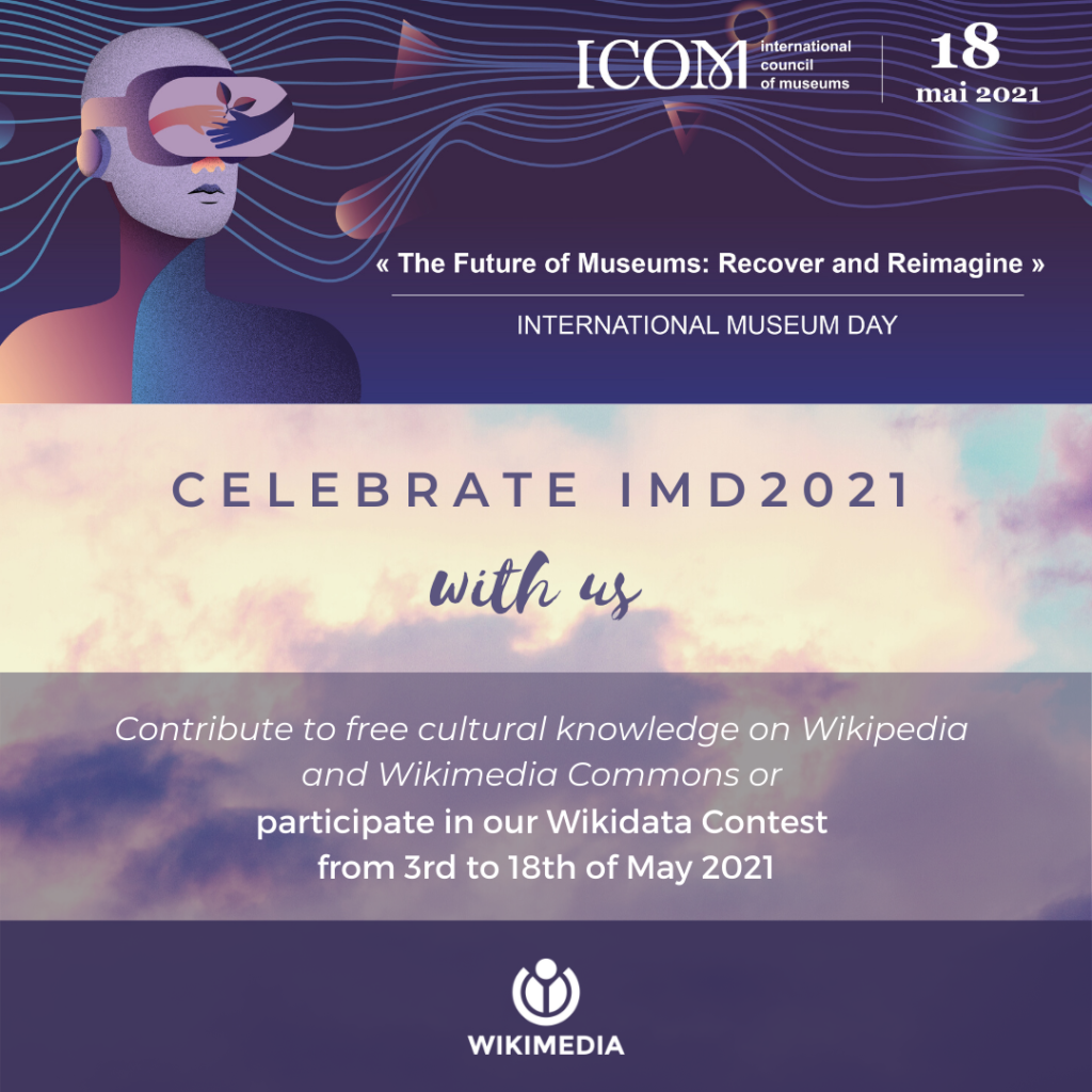ICOM and Wikimedia International Museum Day contest